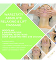 BILET ABSOLUTE RELAXING & LIFTING MASSAGE